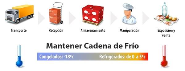 Conservación y almacenamiento de los alimentos