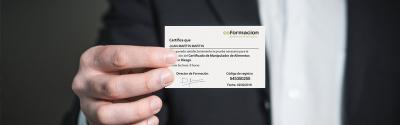 ¿Es obligatorio el carnet de manipulador de alimentos?