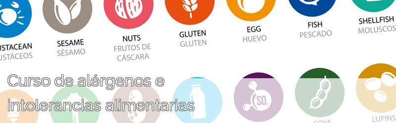 Curso de alérgenos e intolerancias alimentarias