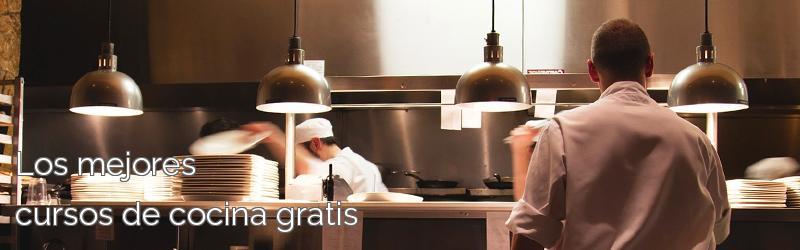Los mejores cursos de cocina gratis